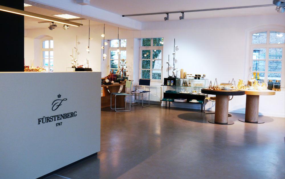 Eingangsbereich Manufaktur Werksverkauf